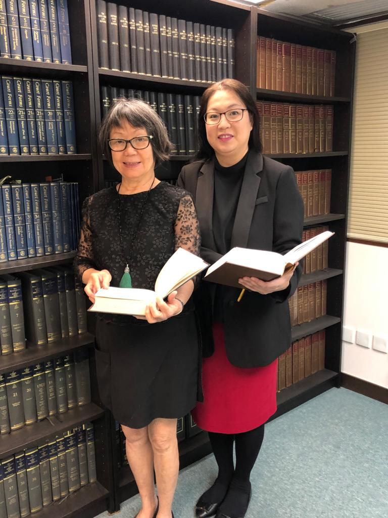Divorce lawyers Susan Liang and Polly Hui